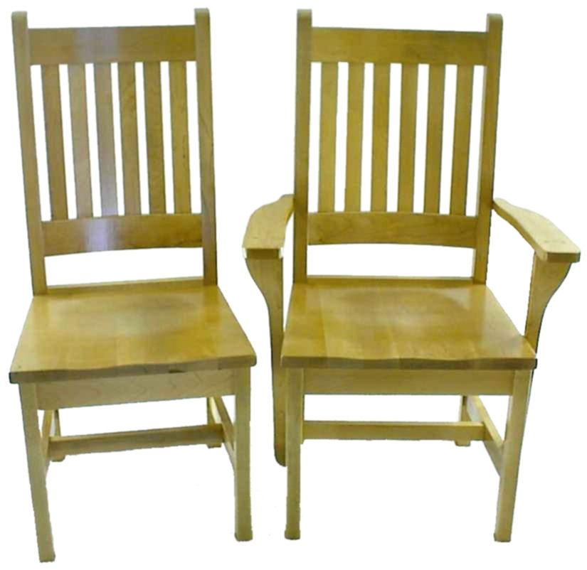 61C Northwest Maple Dining Chairs