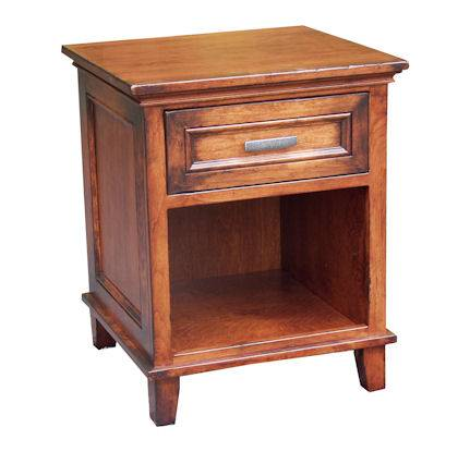 CWF600 Brooklyn Bedroom Set 1 Drawer Nightstand