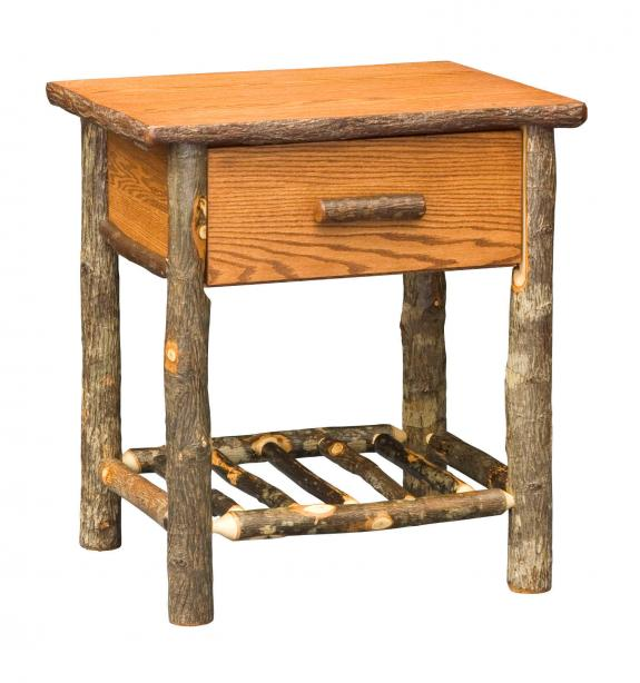 646 Hilltop Rustic Night Stand