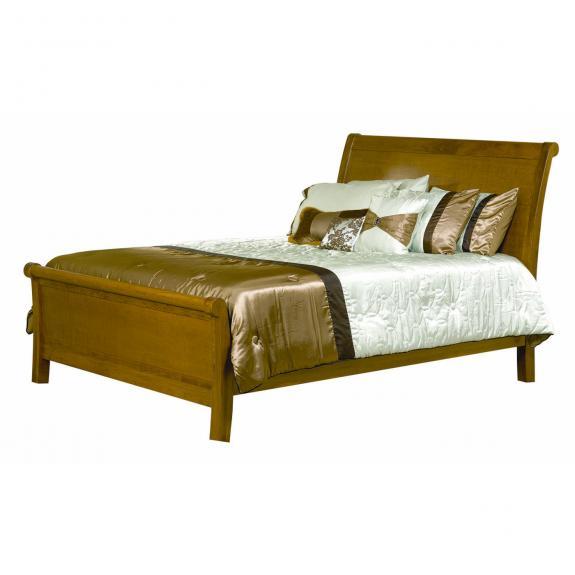 CWF 700 Crescent Bedroom Set Sleigh Bed