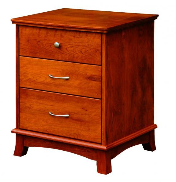 CWF 700 Crescent Bedroom Set 3 Drawer Nightstand