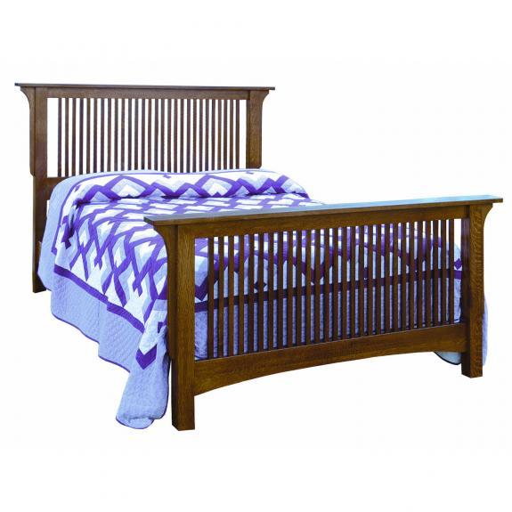 Empire Mission Bedroom Set Spindle Bed