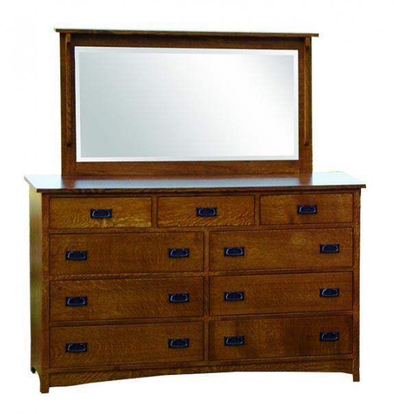 Empire Mission Bedroom Set Tall Dresser