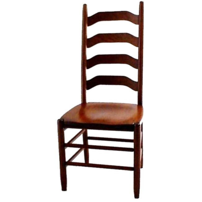 96 Four-Step Ladderback Dining Chair