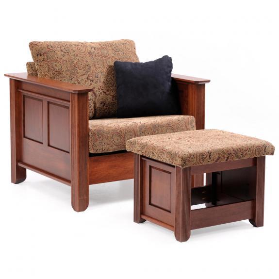 7002 Arlington Chair with Ottoman