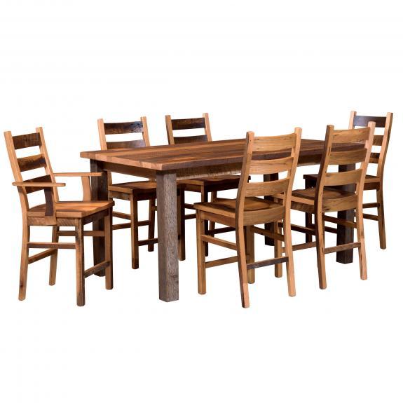 Almanzo Bar Table Collection 116 Pub Table