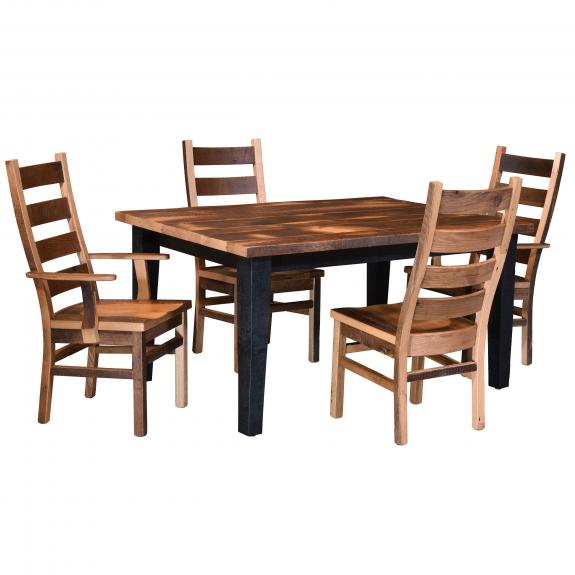 Almanzo Black Dining Set 111 Black Dining Table