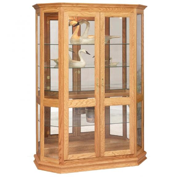 Angled Double Door Picture Frame Curio 2040