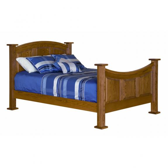 CWF 200 Traditional Bedroom Arch Panel Bed