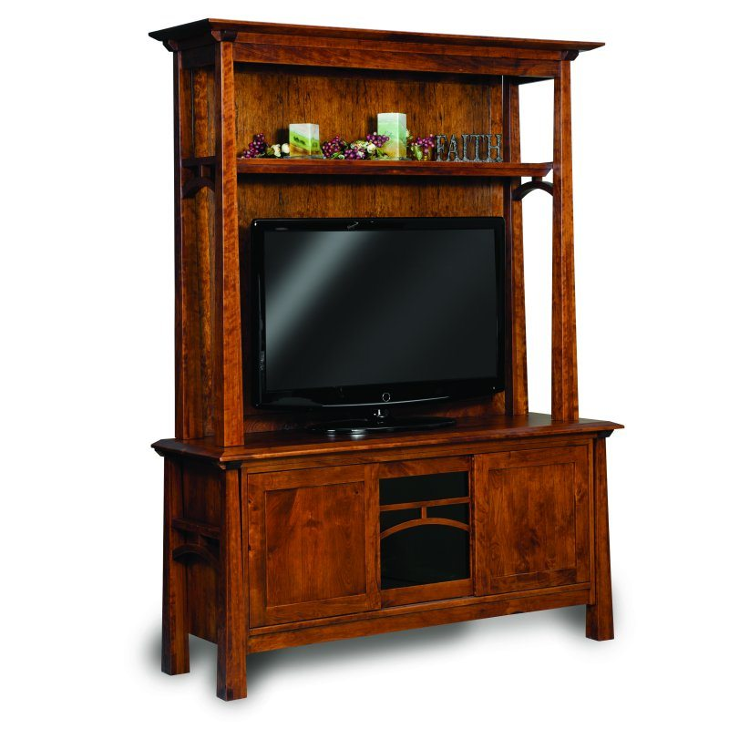 FVE-060-A Artesa Two Piece Media and TV Cabinet
