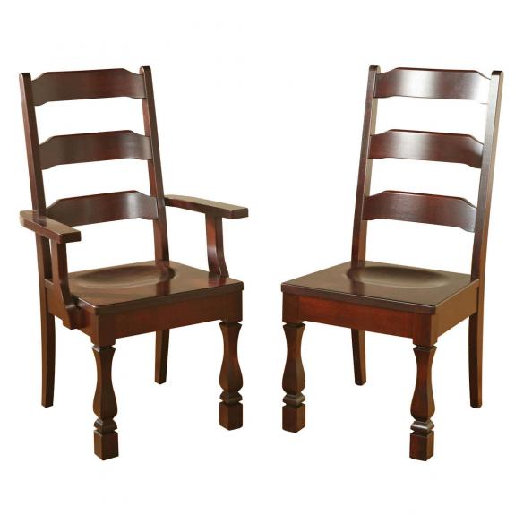 Ashville Dining Set Ashville Wood Chairs