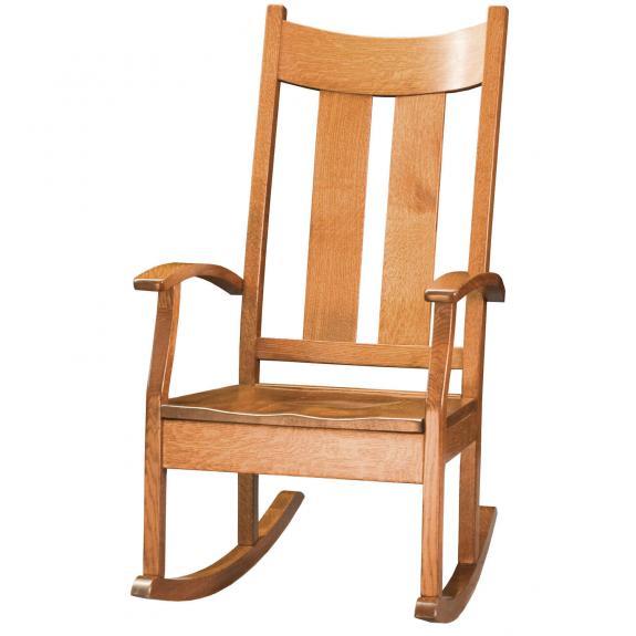 065 Aspen Wood Rocking Chairs