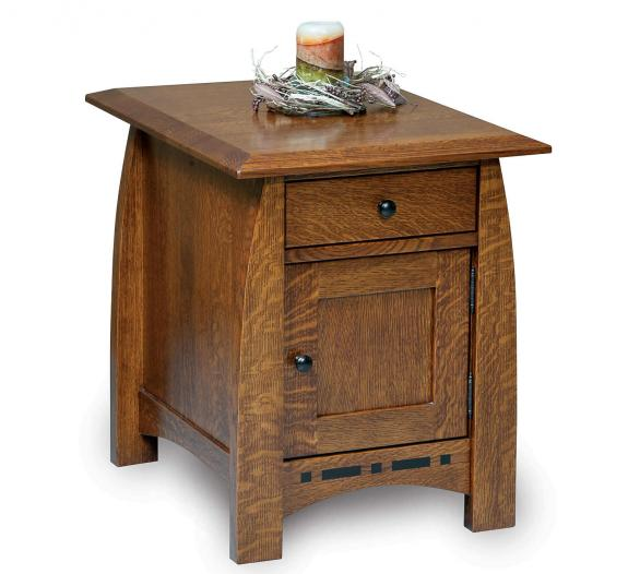 Boulder Creek Enclosed Occasional Tables FVET-BC-EN End Table
