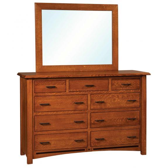 Lavega bedroom collection bl 05 dresser clear creek for 12 inch depth dresser