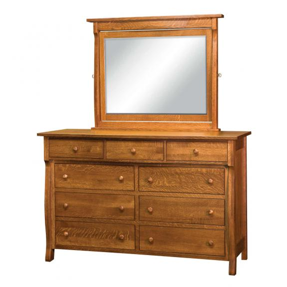 Wellington Bedroom Collection BW-03 Dresser with Mirror