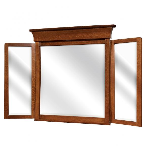 Banbury Bedroom Suite Tri View Mirror