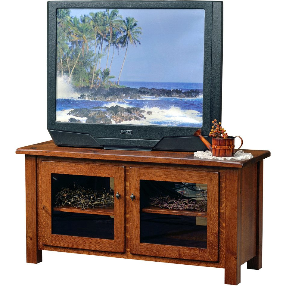 BF-5025 Series Barn Floor TV Stands, Low Profile