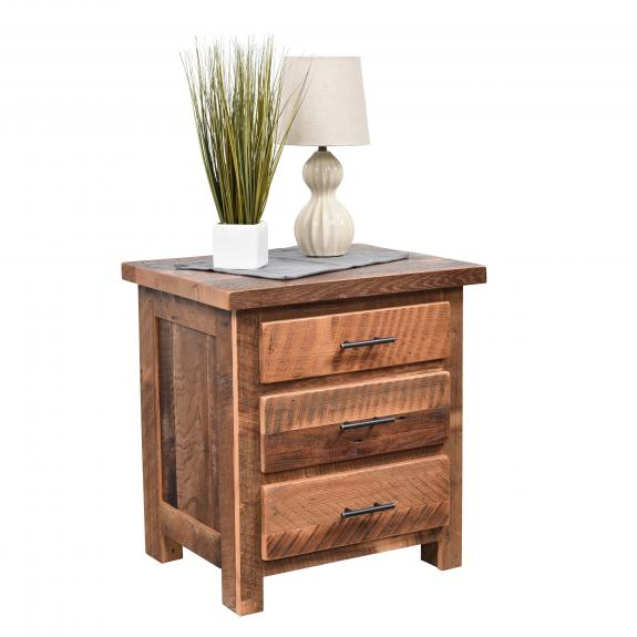 Savannah Bedroom Collection 345 3 Drawer Nightstand