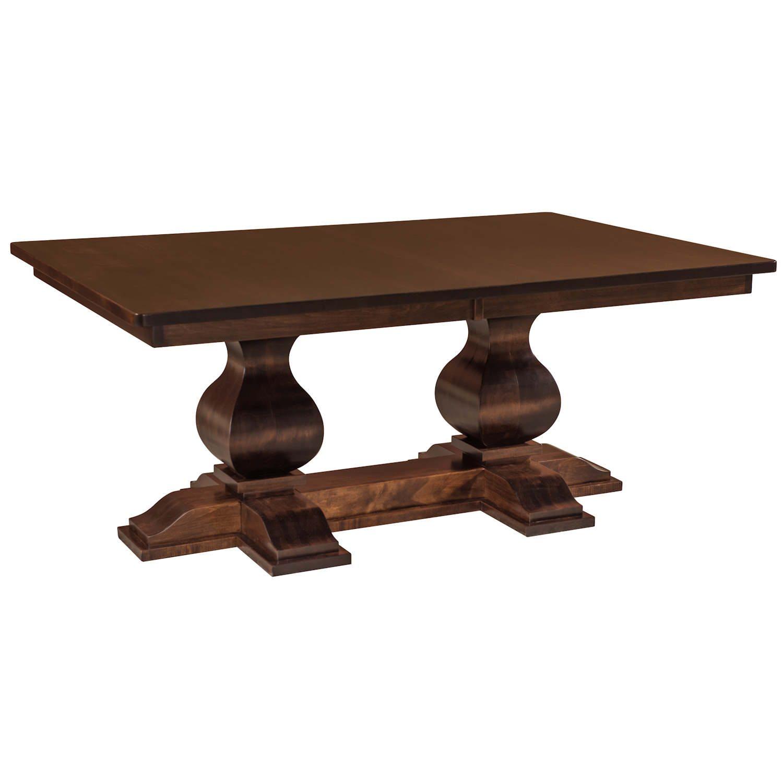 Barrington Double Pedestal Table