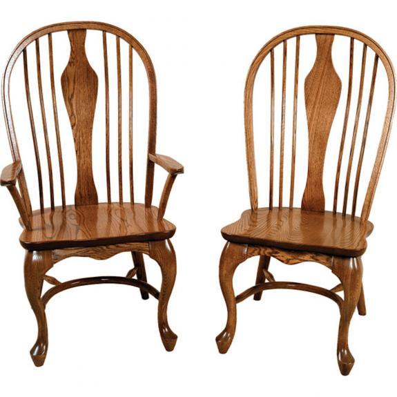 904 Belmont Queen Anne Wood Chair