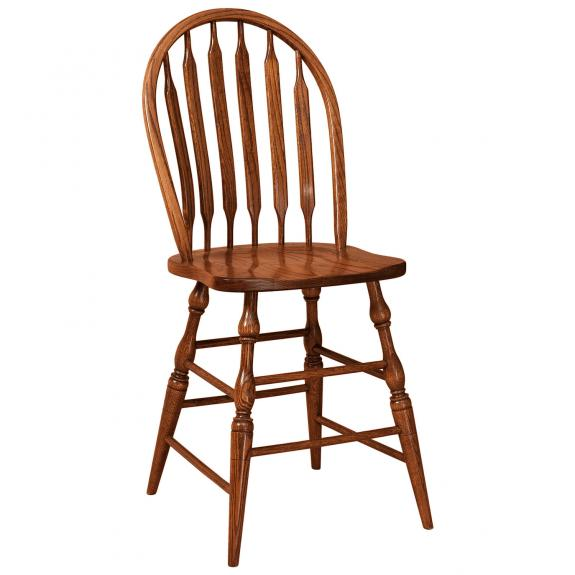 Bent Paddle 30 Oak Bar Stools