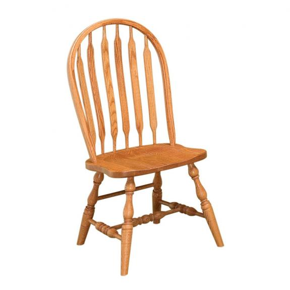 Country Collection Dining Set Bent Paddle Wood Dining Chair