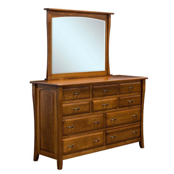 Berkley Shaker Bedroom Collection BER-03 10 Drawer Dresser