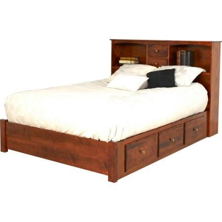 Sonora Bedroom Collection Bookcase Headboard Bed