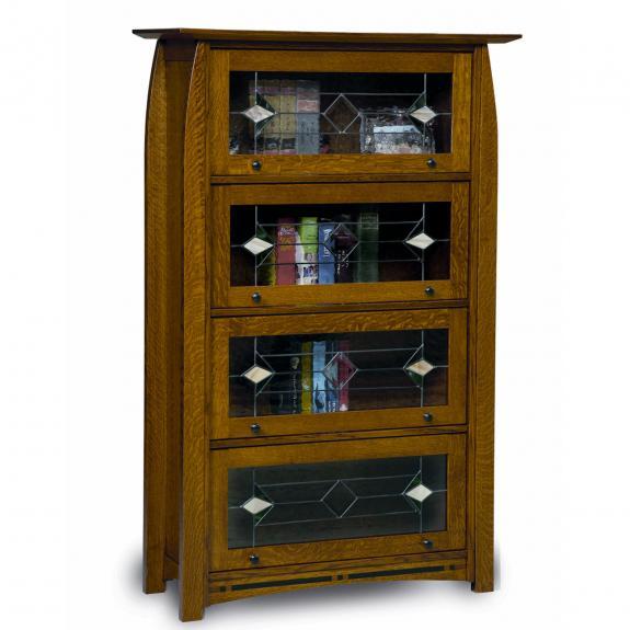 FVBR-4DR Boulder Creek Barister Bookcase