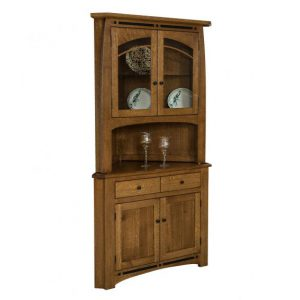 If You Are Looking For A Corner China Cabinet Or Corner Dining Room Hutch,  We Have An Extensive Collection In Our Ohio Amish Furniture Store.