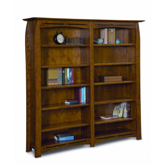 FVB-012 BC Boulder Creek Double Bookcase