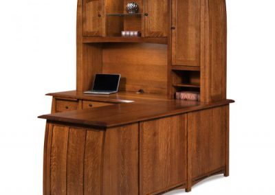 Boulder-Creek-L-Shaped-Desk-with-Hutch-Side-View