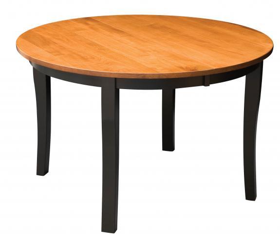 Brady Round Black Dining Table