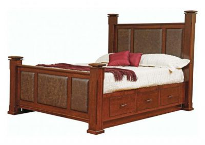 Breckenridge-Leather-Bed