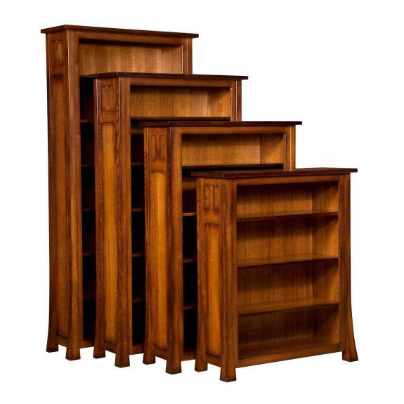 BFM401484 Bridgefort Mission Bookcases