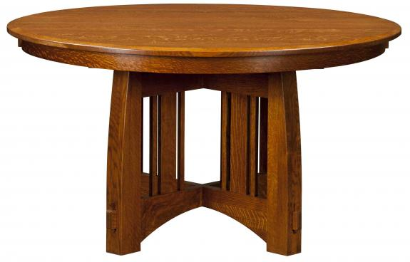 Brookville Arts and Crafts Dining Table