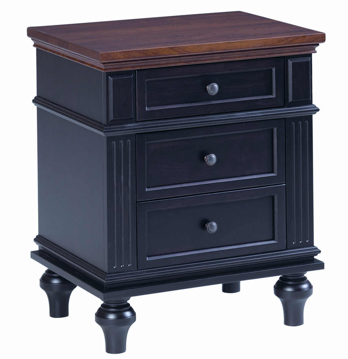 Hampton Bedroom Collection 1906 3 Drawer Nightstand