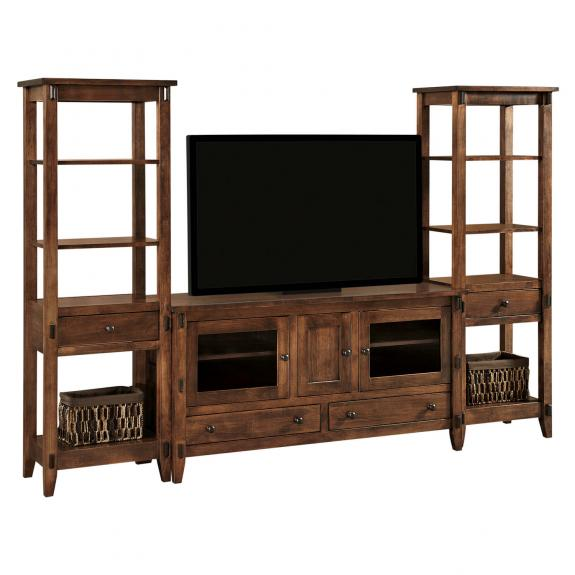 Bungalow TV Console and Towers