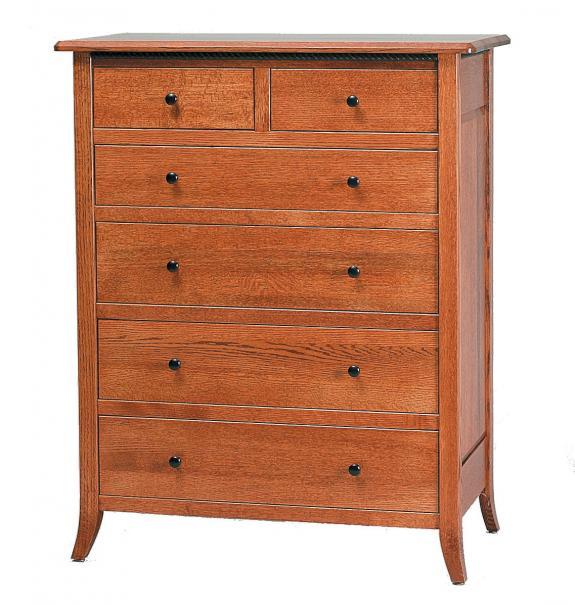 Bunker Hill Bedroom Set 6 Drawer Chest