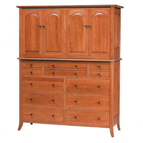 Bunker Hill Bedroom Set Armoire Mule Chest