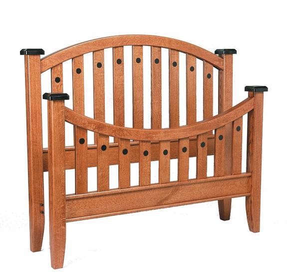 Bunker Hill Bedroom Set Bed Clear Creek Amish Furniture