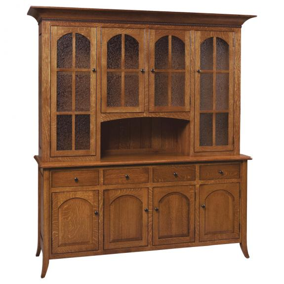 Bunker Hill Dining Collection G06-34C Dining Hutch (3 Sizes)