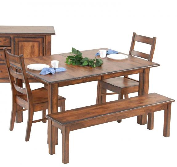 Plymouth Dining Set Burnwood Extension Table