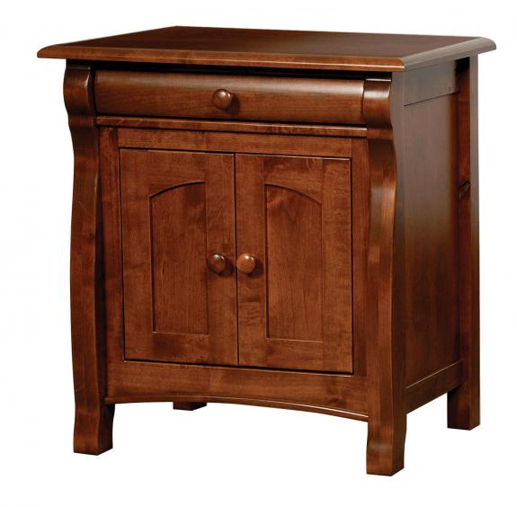Castlebury Sleigh Bed Collection BCL-11 Nightstand