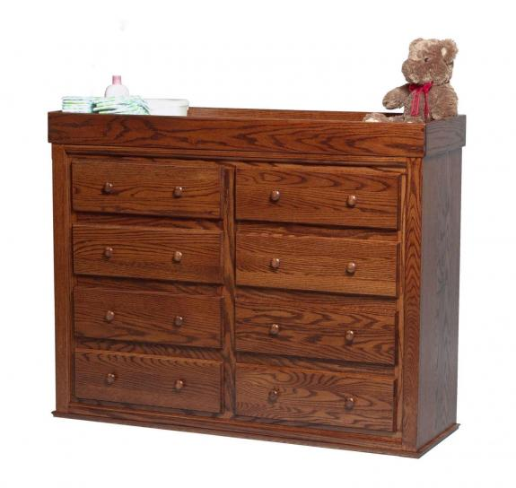 CC402 8 Drawer Changing Table / Dresser