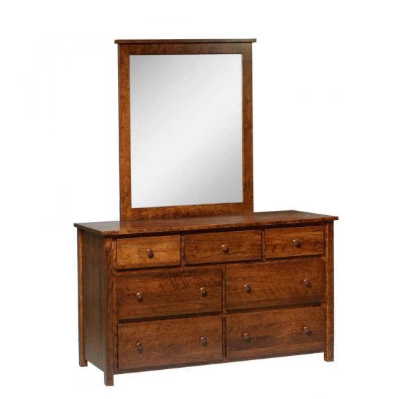CJ501 Dresser with Mirror