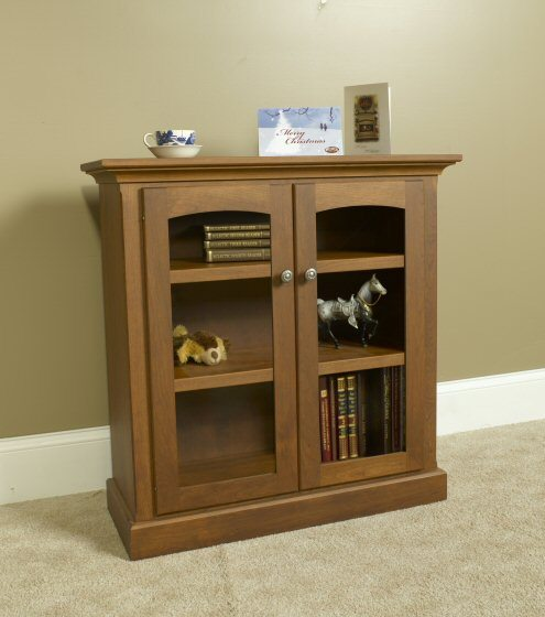 A-3236C Country Lane Bookcase with Glass Doors