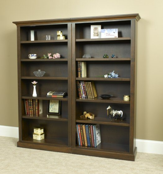 A-3272A Country Lane Open Bookcase