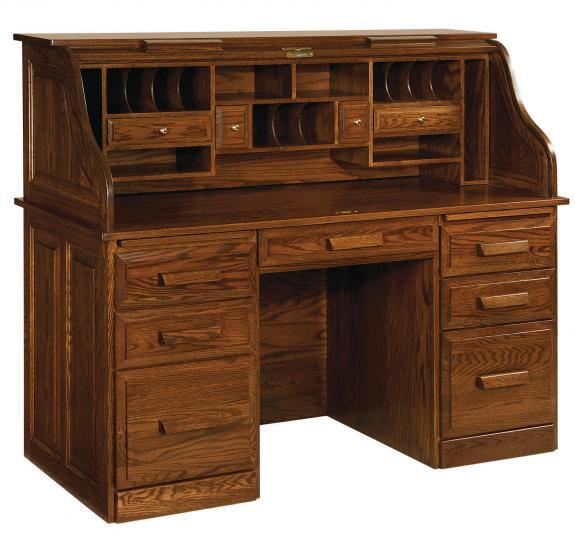 RW2011 Classic Farmer's Roll Top Desk