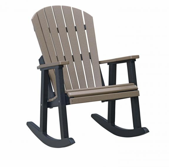 Comfo-Back King Outdoor Rocking Chair